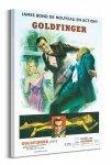 James Bond (Goldfinger Sketch)  - Obraz na płótnie
