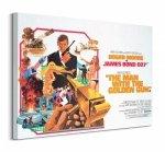 James Bond (The Man with the Golden Gun Landscape) - Obraz na płótnie
