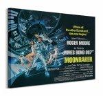 James Bond (Moonraker Landscape) - Obraz na płótnie