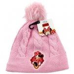 Czapka jesienna / zimowa Myszka Minnie : Rozmiar: - 52 cm