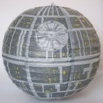 Lampion, papierowa kula Star Wars Gwiazda Śmierci