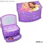 Szkatułka pudełko na biżuterię 10045 Top Model z lusterkiem
