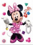 Naklejki Duża Naklejka Myszka Mini Disney Minnie