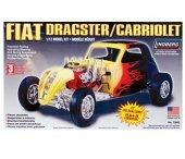 Model plastikowy - Fiat Dragster - Lindberg