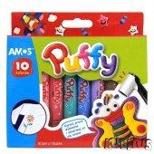 Farby do tkanin x10 puffy AMOS