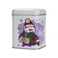 Mount Everest - Świąteczna puszka na herbatę - Snowman 50g