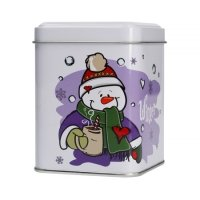 Mount Everest - Świąteczna puszka na herbatę - Snowman 100g
