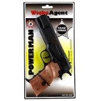 Pistolet NA SPŁONKĘ kapiszony Wicke Agent PowerMan