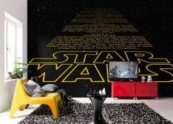 Fototapeta Star Wars Gwiezdne Wojny Napisy