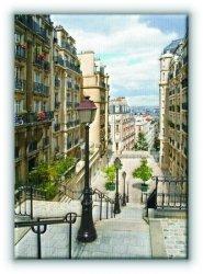 Paryż. Paris Montmartre - Obraz na płótnie
