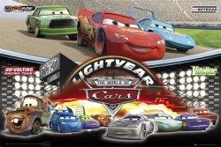 Auta - Disney Cars - World Of - plakat