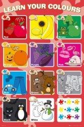 Nauka Kolorów - plakat edukacyjny