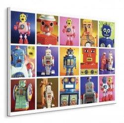 Robot Metropolis - Obraz na płótnie