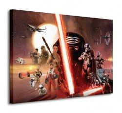 Gwiezdne Wojny Star Wars Episode VII (Galaxy) - obraz na płótnie