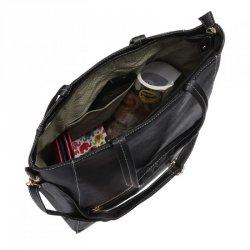 Piękna pojemna torebka damska z dopinanym paskiem A4  FB110