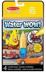 Kolorowanka Wodna Water Wow POJAZDY Malowanka Melissa 15375