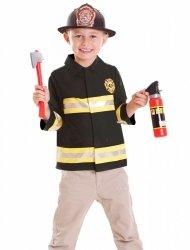 STRÓJ Strażaka Przebranie Fireman 3-6 lat