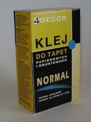 Klej do tapet papierowych Decor Normal 120g