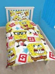 Pościel Spongebob Kanciastoporty 135x200cm komplet pościeli