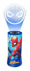 Lampka nocna z projektorem Spiderman
