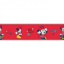 Border Myszka Mini Minnie Mouse