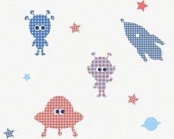 Tapeta Rakiety Ufo i Kosmici 94124-3 Esprit Kids 3