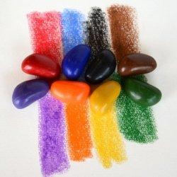 Kredki kamyki Crayon Rocks w bawełnianym woreczku 8szt