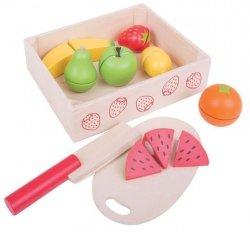 Pudełko z owocami do krojenia