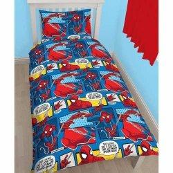 Pościel Marvel Comics 135x200cm SpiderMan Komiks