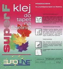 Klej do tapet na flizelinie Euroline Super F 200g