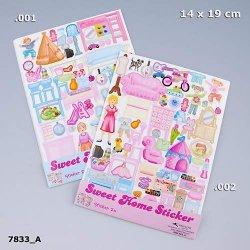 Naklejki do zestawu Sweet Home x2