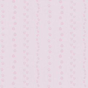 Tapeta 5575-20 HAPPY KIDS 2 Ślady Tropy Pink