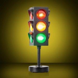 Lampka Światła Uliczne lampa jak sygnalizator drogowy