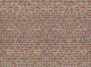 Imitacja Cegły - Czerwona cegła - fototapeta