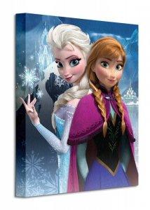 Frozen anna & Elsa - Obraz na płótnie