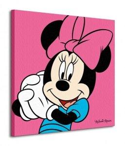 Minnie Mouse Pink - Obraz na płótnie
