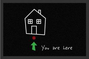 You Are Here - wycieraczka