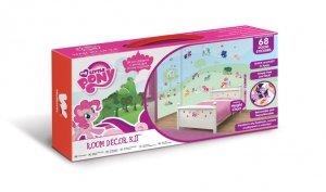 Zestaw naklejek naklejki  My Little Pony z miarką wzrostu