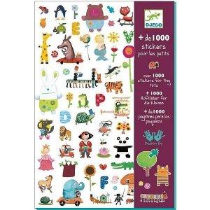 1000 naklejek ze zwierzątkami