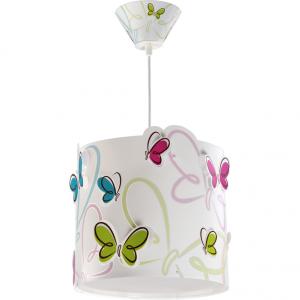 Lampa sufitowa Motyle Motylki biała