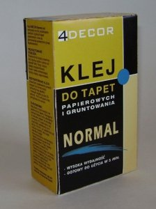 Klej do tapet papierowych Decor Normal 120g