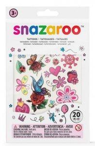 Zestaw do tatuażu Motyle Snazaroo tatuaże