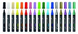 Markery Akrylowe 18 kolorów