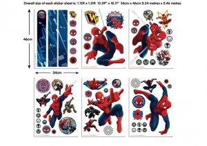 Zestaw naklejek naklejki Ultimate Spiderman
