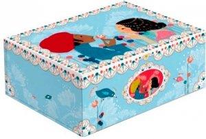 Pudełko na zabawki biżuterię drobiazgi Romantic