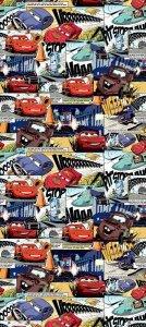 Tapeta Disney Cars Auta w rolce Komiks na flizelinie