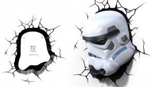 Lampka nocna Stormtrooper Star Wars 3D Deco Light Gwiezdne Wojny