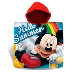 Ponczo Ręcznik z kapturem Myszka Miki Mickey Mouse