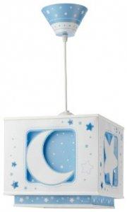 Lampa sufitowa Księżyc i Gwiazdki Blue Moon