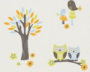 Tapeta Sowy i Drzewko 94115-1 Esprit Kids 3